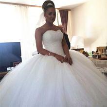 Свадебные платья с кристаллами и бусинами новинка Роскошное