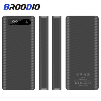 5V Dual USB 8*18650 Power Bank Case With Digital Display Screen Mobile Phone Charger DIY Shell 18650 battery Holder Charging Box quick charge version 5v dual usb 8 18650 power bank case mobile phone charger qc 3 0 diy shell 18650 battery holder charging box