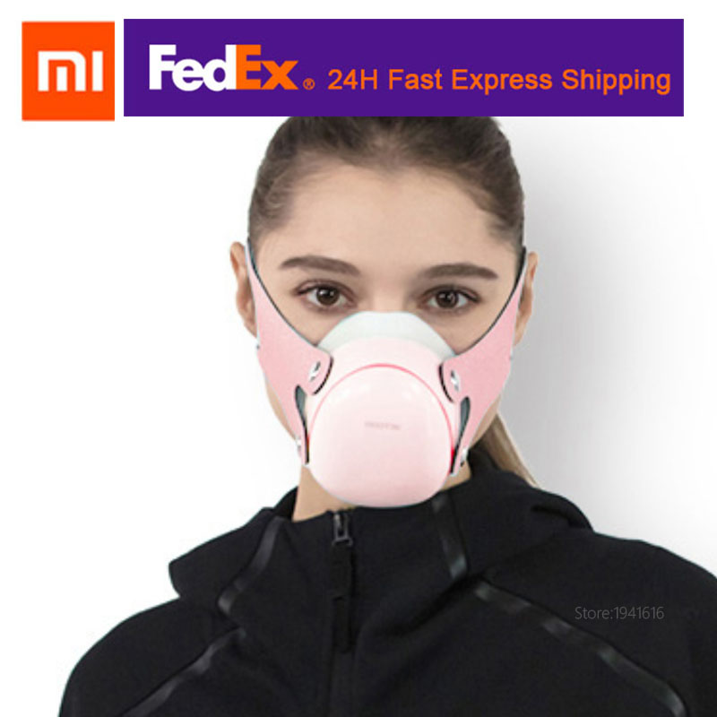 2020 Summer Xiaomi Mi Hootim Electric Face Mask Anti-haze Sterilizing Filters Avaliable Air Supply Comfortable Mother & Kids