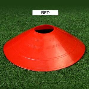 10 шт., футбольные тренировочные знаки, плоские, устойчивые к давлению конусы, маркер, диски, барьер, маркер, встроенное катание, аксессуары для скоростных тренировок