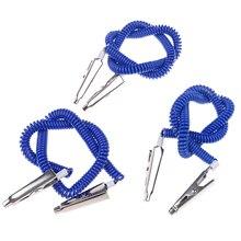 Bib Crocodile Clip Flexible Metal Ball Chain New 1 Pc Napkin Holder Dental Lab