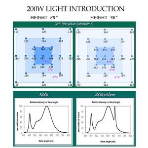 Image 3 - led grow light LED Lamp LM301B 400Pcs Chip Full spectrum 240w samsung 3000K, 660nm Red Veg/Bloom state Meanwell driver