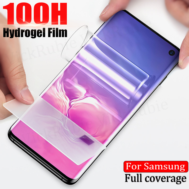Filme Para Samsung Galaxy A51 hidrogel 71 50 70 41 40 60 80 90 M31 51 Protetor de Tela Para Samsung Nota 20 S20 Ultra S10 9 8 Pro