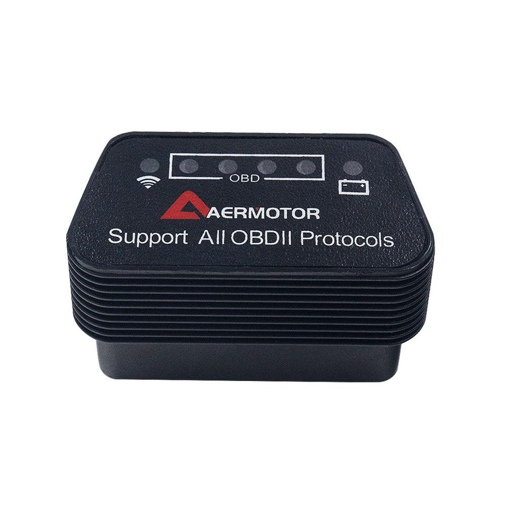 H8fbb8b6cb8a043ca897633be8b0ca0e3u 2019 OBD2 ELM327 1.5 HH OBD Diagnostic Scanner ELM 327 V1.5 WiFi/Bluetooth OBDII Auto Code Reader Support OBD2 OBD 2 Protocols