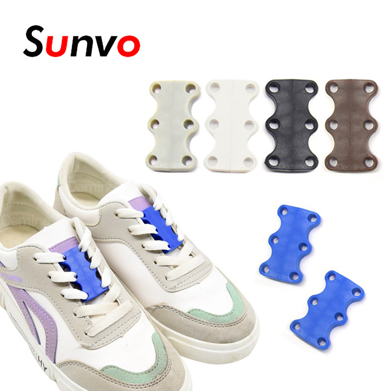 No Tie Shoelaces Buckle Magnetic Locking Quick Shoe Laces For Kids Adult Unisex Sneakers Casual Shoes Shoelace Strings Dropship