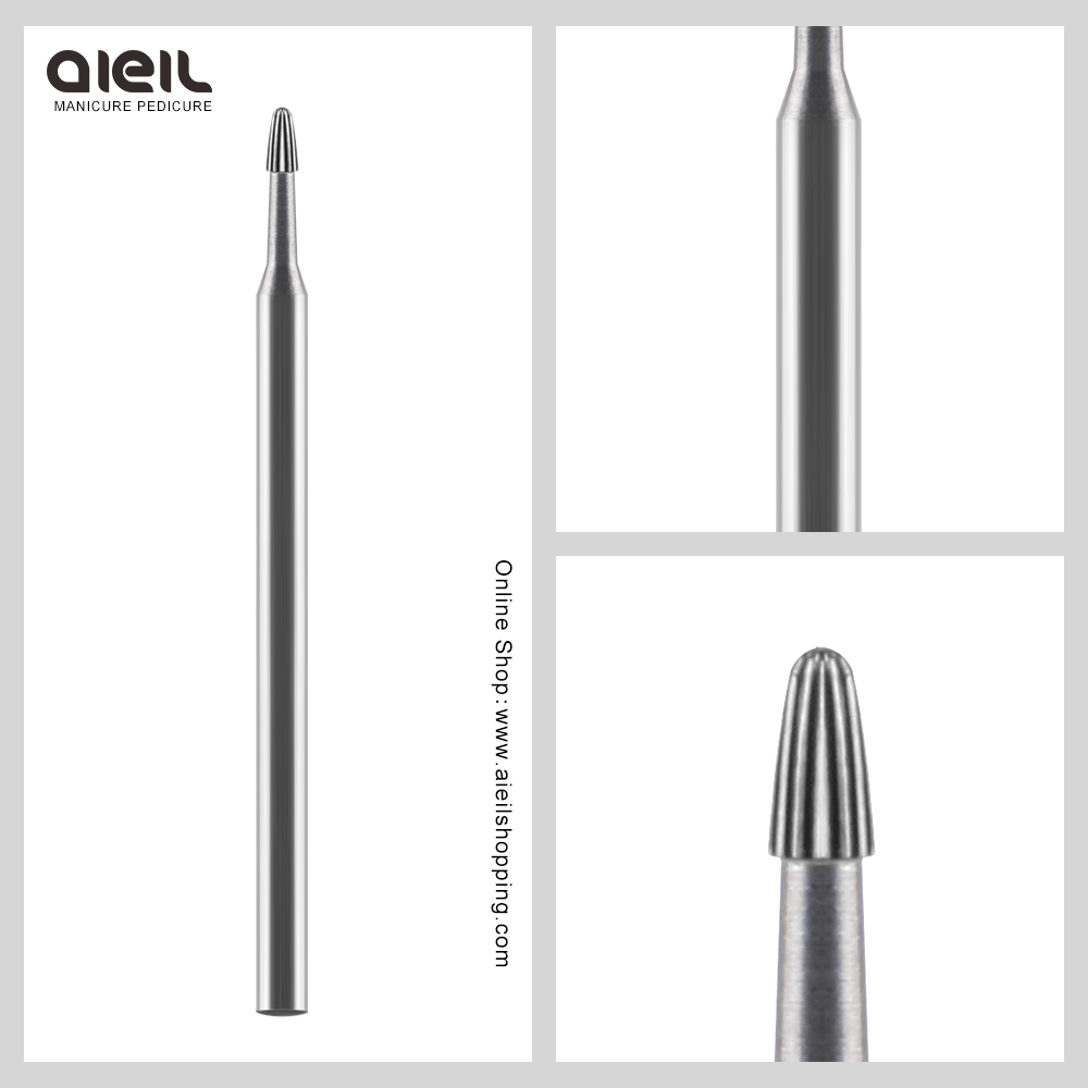 Carbide Burrs Electric Manicure Drill Accessory Nail Drill Bit For Remove Acrylics Gel Nail Files