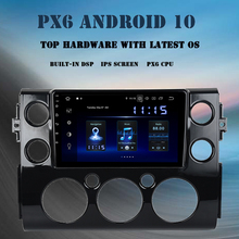 "9 ""Android 10.0 Auto Multimedia Speler Voor Toyota Fj Cruiser 2007 2010 2011 2012 2015 2016 Dsp 4Gb + 64Gb Radio Gps Navigator"