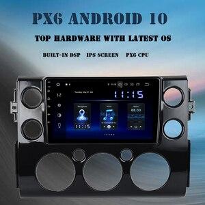 "Image 1 - 9"" Android 10.0 Car Multimedia Player for Toyota FJ Cruiser 2007 2010 2011 2012 2015 2016 DSP 4GB+64GB Radio GPS Navigator"