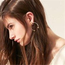 Women Female Vintage Dangle Drop Earrings Fashion Geometric Metal Earrings Jewelry Wholesale-YR-W17