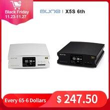 AUNE REPRODUCTOR de Audio Digital X5S 6th Hifi, decodificador AK4490 DSD, amplificador USB DAC de 24 bits/192K