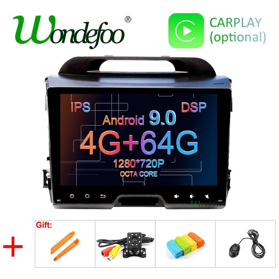 9 4G RAM 64G ROM Android 9 0 DSP IPS AV Output CAR DVD PLAYER For