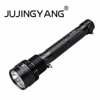 High power 85W xenon flashlight night patrol work portable waterproof flashlight 5 mode rechargeable flashlight