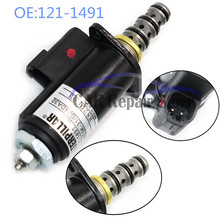 121-1491 New Solenoid Valve For Caterpillar E320B/C/D 315C 325C Excavator Rotary 1211491 KWE5K-31 G24DA30 CAT