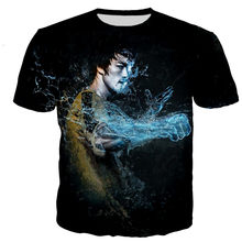 Bruce lee t camisa masculina/feminina 3d impresso t-shirts casual harajuku estilo tshirt streetwear topos dropshipping