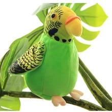 Калькулятор попугай плюшевые игрушки, забавные говорящие и записывающие повторяют развевающиеся крылья электрическая птица чучела Детская плюшевая игрушка