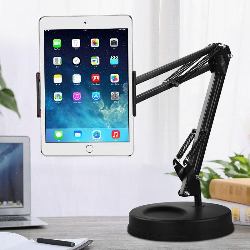 Universal Long Arm Tablet Stand Holder Desktop lazy Mobile Phone Bracket Support Mount For iPhone iPad mini Pro Tablet Holder