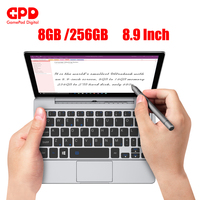 GPD P2 Max 8.9 Inch laptops with windows 10 Inter Core Celeron 3965y gaming laptop mini laptop notebook 8GB 256GB ноутбук