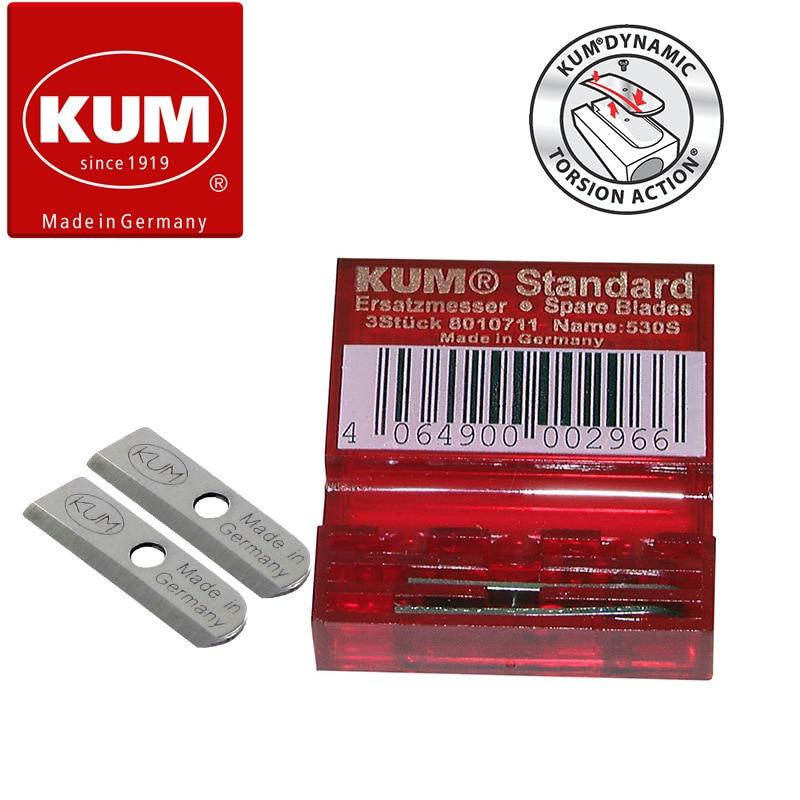 Germany KUM 530S High Sharp High Hardness Flexible Carbon Steel Blade Suitable For Standard Pencil Sharpener