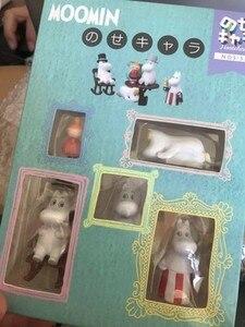 Image 5 - دمية لغز المتتالية مومين الأسرة Jenga طبقة مايكرو لتقوم بها بنفسك المشهد بك نموذج للأطفال هدايا عيد الميلاد