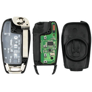 Image 5 - Klapp Geändert 3 Taste Smart Remote Key Fob Für Chevrolet Cruze 2014 2018 433 MHZ Mit ID46 PCF7941 Chip