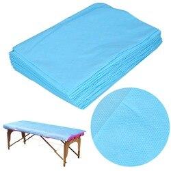 10 шт водонепроницаемый одноразовый на кровать для массажа, спа лист покрытие стола нетканый хлопок 68,9 ''x 29,5'' салон красоты простыня для масс...