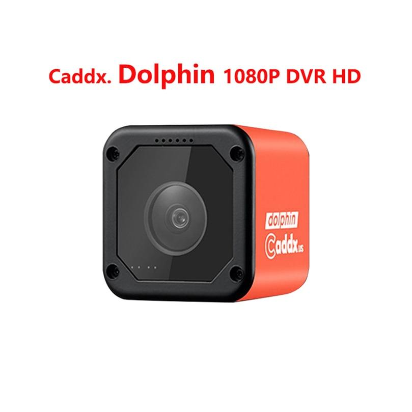 Caméra Caddx FPV dauphin 1080P DVR HD enregistrement WIFI 150 degrés Action Sport caméra pour avion RC FPV course Drone quadrirotor