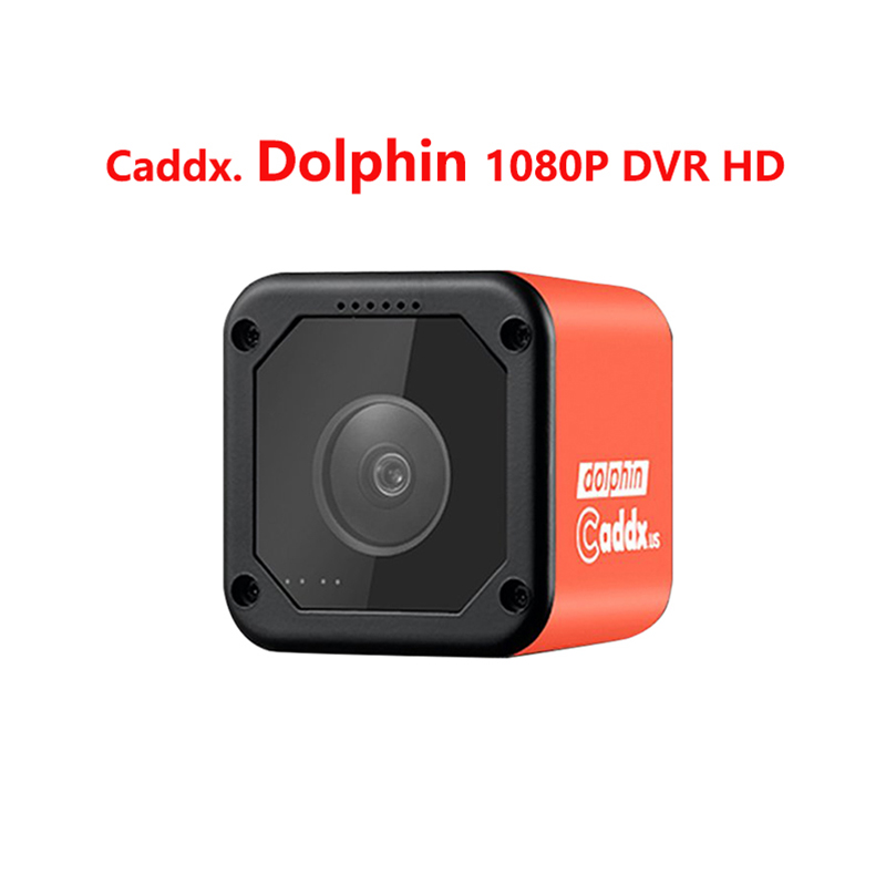 Caddx FPV Camera Dolphin 1080P DVR HD Recording WIFI  150 Degree Action Sport Cam For RC Plane FPV Racing Drone  Quadcopter
