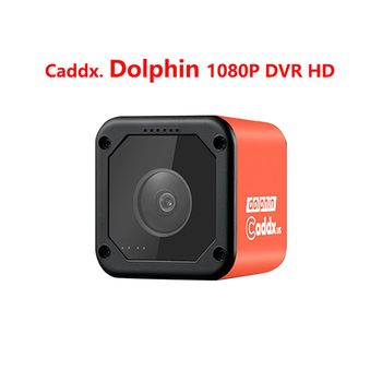 Caddx FPV Camera Dolphin 1080P DVR HD Recording WIFI  150 Degree Action Sport Cam For RC Plane FPV Racing Drone  Quadcopter turbowing dvr cyclops 3 dvr vtx cam aio 700tvl 5 8g 48ch 0mw 25mw 200mw fpv av transmitter camera for rc multi models