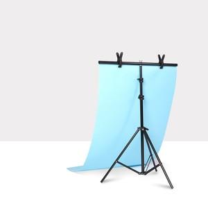 Image 1 - T على شكل قوس الصور ستوديو التصوير خلفية المعدات 2 الوجهين ماتي المضادة للتجاعيد التصوير خلفية PVC المواد مجلس