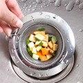 Kitchen Stainless Steel Sink Filter Bathroom Floor Drain Slag Cleaner Food Slag Leak Net Home Floor Drain Kitchen Sink Slag|Colanders & Strainers|Home & Garden -