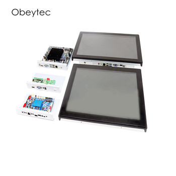 19 inch Touch hdmi PC, 1440*900, 250cd/m2, touch screen capacitive, 10 points, OB-TPCI-190W, 2G/3G/4G, J1900 4+64 фото
