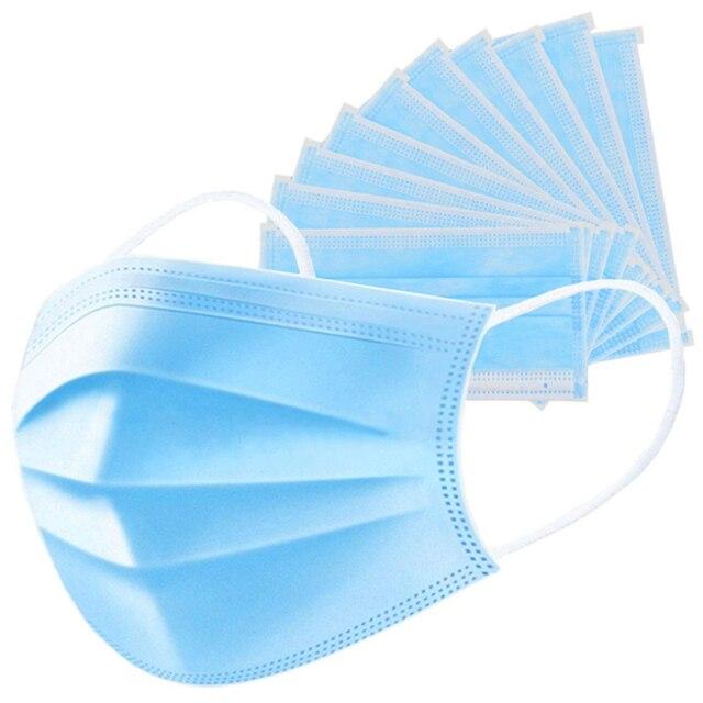 Mask filter cotton kn95 ffp2 3 n95 grade for PM2.5 dust-proof  filter for anti-virus flu mask respirator wholesale 2