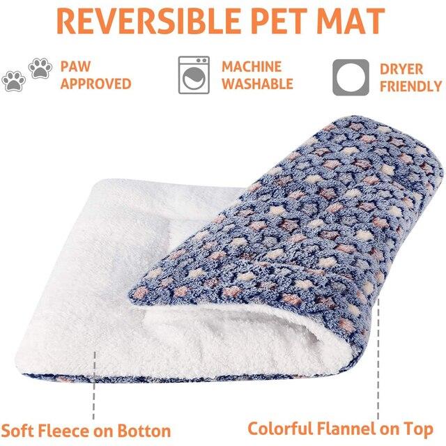 High Quality Washable Fleece/Cotton Super Cozy Pet Lounger 2