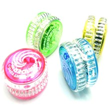 Yo-Yo Toy Colorful YOYO Ball Flashing LED Children Plastic High Quality Compact And Portable, Easy To Carry