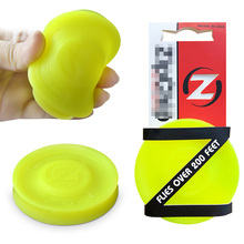 The New Way To Play Mini Flying Disc Frisbie Pocket Flexible Soft New Spin In Catching Game Frisbie Adult Beach Outdoor цена