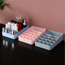 Organizer compartment cosmetics storage box plastic jewelry box lipstick box creative nail polish desktop dressing box
