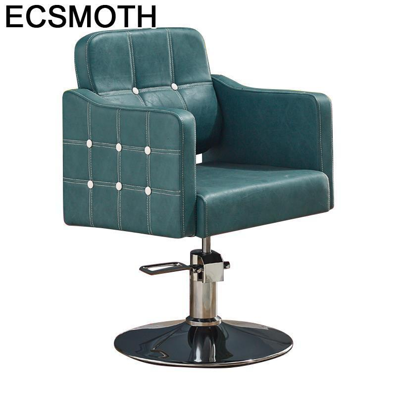 De Barbeiro Mueble Beauty Makeup Cabeleireiro Sedia Schoonheidssalon Stoelen Barbershop Salon Silla Cadeira Barber Chair