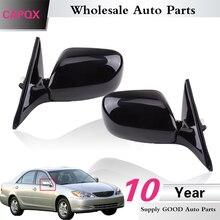 CAPQX 1 Paar elektrische auto klapp rückspiegel Für Camry ACV30 MCV30 2001 2002 2003 2004 2005 2006 außerhalb spiegel 7 draht/7pin