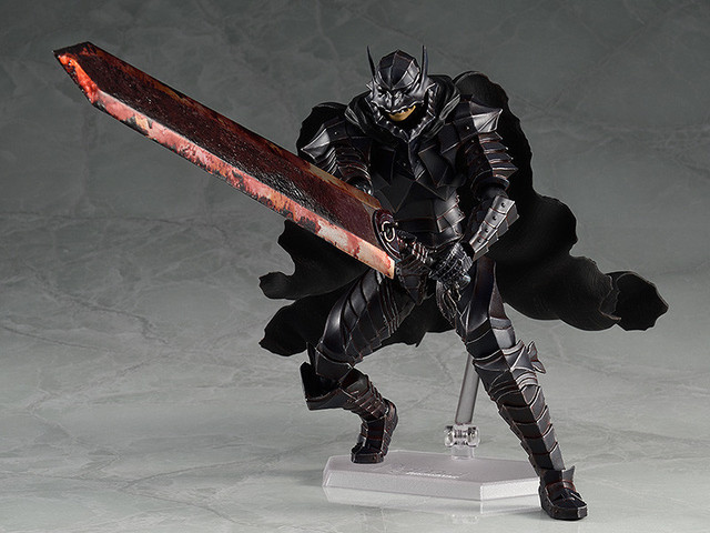 Figma 410 Black Swordman Berserk Action Figure Model Toys Doll For Gift 3