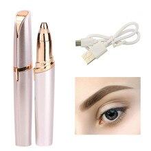 Mini eyebrow epilator USB Charge or Battery Style Epilator Eye brow Ha