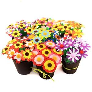 Цветочный горшок ремесла игрушки для детей Дети выращивание горшочных растений детский сад Обучающие Развивающие игрушки Монтессори вспомогательный материал для обучения игрушки 2019