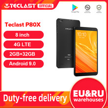 Tablet Teclast P80X da 8 pollici Android 9.0 4G Phablet SC9863A Octa Core 1280*800 IPS 2GB RAM 32GB ROM Tablet PC doppia fotocamera GPS