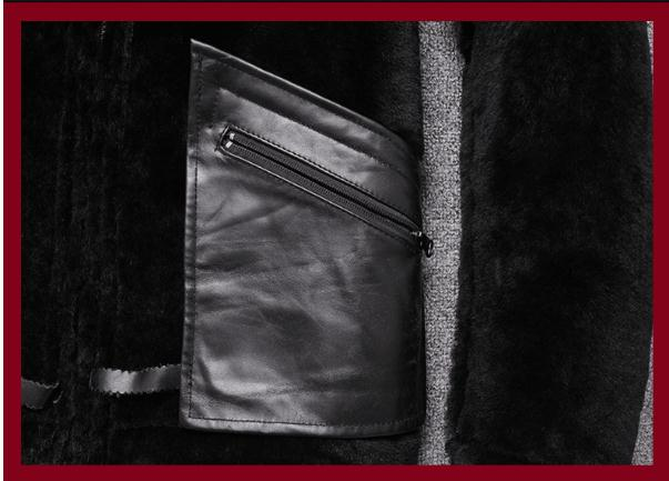 H8fc1a3c202974378bb7e294aa86a1d8ek Free shipping,Sales Winter Sheep fur coat,100% wool Shearling jacket,warm leather sheepskin coat.plus size classic motor style