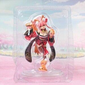 Image 5 - 18Cm Anime Fate/Grand Order Nhân Vật Hành Động FGO Tamamo Không Mae Mèo Miếng Lót Ver Mô Hình Nhựa PVC Trang Trí gợi Cảm Trẻ Em Phổ Biến Sưu Tập Búp Bê