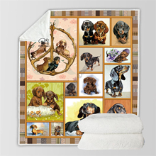 Plstar Cosmos Cute Animal Cartoon Pet dog/cat  Blanket 3D print Sherpa on Bed Home Textiles Dreamlike style-10