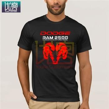 ¡Novedad de 2020! Camiseta guay de verano para hombre, camisetas con estampado de Phiking para hombres y mujeres de estilo americano con coche RAM 2500 camioneta PICK up, nuevo 2020 negro