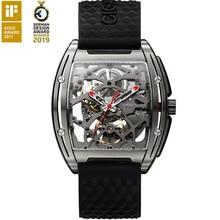 Ciga Luxe Titanium Case Herenhorloge Business Automatische Horloge Met Siliconen Lederen Band 30M Waterdichte Klok Mannelijke Relogio