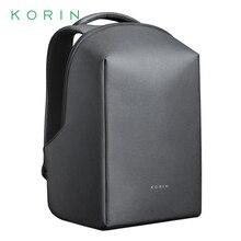 Korin Design HIPACK Hidden Anti-theft Men Backpack USB Charging 15.6 inch Laptop Backpack Waterproof