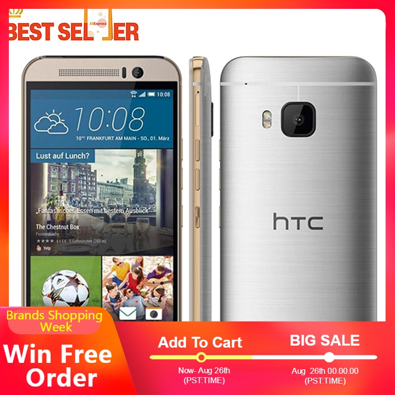 HTC ONE M9 Unlocked 4G LTE 32GB Octa Core Refurbished Camera Smartphones 20MP NFC WIFI