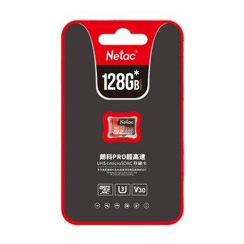 Original Netac P500 Pro 64GB Micro SD Card 128GB TF Card U3 V30 Computer Video Card Up to 100MB/s Memory Card